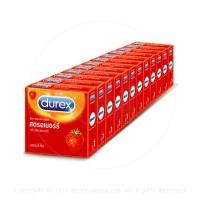 ถุงยางอนามัย Durex Strawberry (กลิ่นหอม)