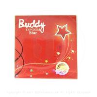 ถุงยางอนามัย Buddy Star (แบบดาวกระจาย)