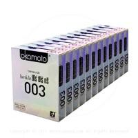 ถุงยางอนามัย Okamoto 003 (แบบบางมาก) 1 โหล 12 กล่อง