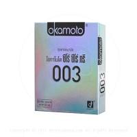 ขายถุงยางอนามัย Okamoto 003 (แบบบางมาก)