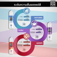 Forfun Premium Personal Lubricant Natural 1 Box (7.5g x 3sachets) (เจลหล่อลื่นสูตรอ่อนโยน)